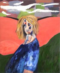 Pregnant by Janes Haid-Schmallenberg contemporary artwork painting