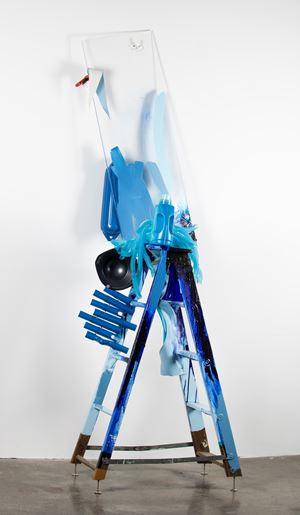 Expression Blue by Jessica Stockholder contemporary artwork