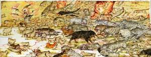 Big Bad Wolves, Chap. 1 by Mu Pan contemporary artwork