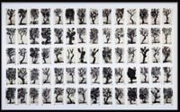 Drawing for Waiting for the Sibyl (Composite of Trees I) by William Kentridge contemporary artwork painting, works on paper, drawing
