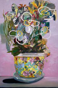 A Fine Vine by WYATT MILLS contemporary artwork painting