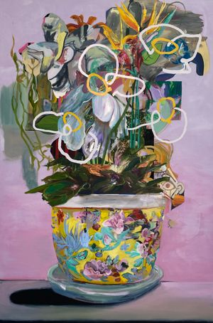 A Fine Vine by WYATT MILLS contemporary artwork