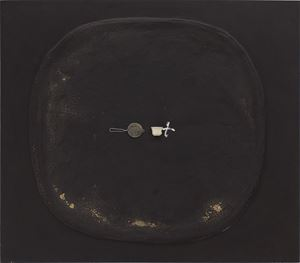 Colador i Tassa by Antoni Tàpies contemporary artwork