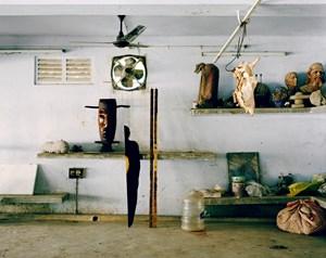 Sculpture I Santiniketan (from the series Art in Progress) by Leonora Hamill contemporary artwork