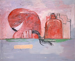 Febrile by Philip Guston contemporary artwork painting