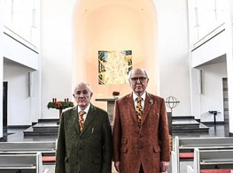 Gilbert & George bring battle of cultures to Berlin church