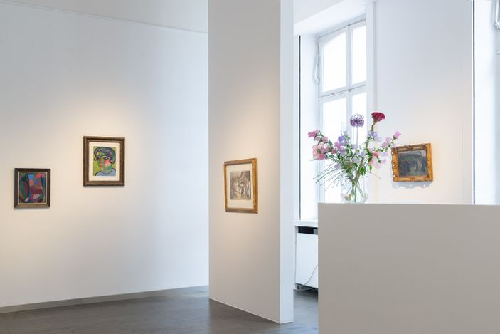 Exhibitin view: Group Exhibition,Printemps, Beck & Eggeling International Fine Art,Düsseldorf (19 May–31 July 2021). Courtesy Beck & Eggeling International Fine Art.