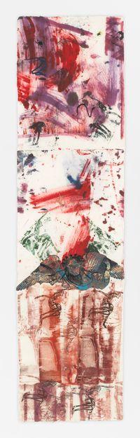La Folie III by Nancy Spero contemporary artwork works on paper