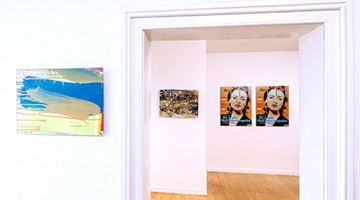 Contemporary art exhibition, Group Exhibition, Ich hab im Traum die Schweiz gesehn at Galerie Tanit, Munich
