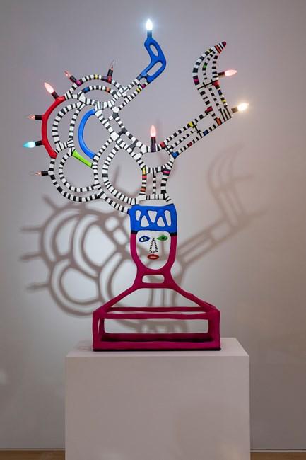 Lampe Angulaire by Niki de Saint Phalle contemporary artwork