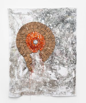 Nyaya Dzechidhakwa by Wallen Mapondera contemporary artwork mixed media, textile