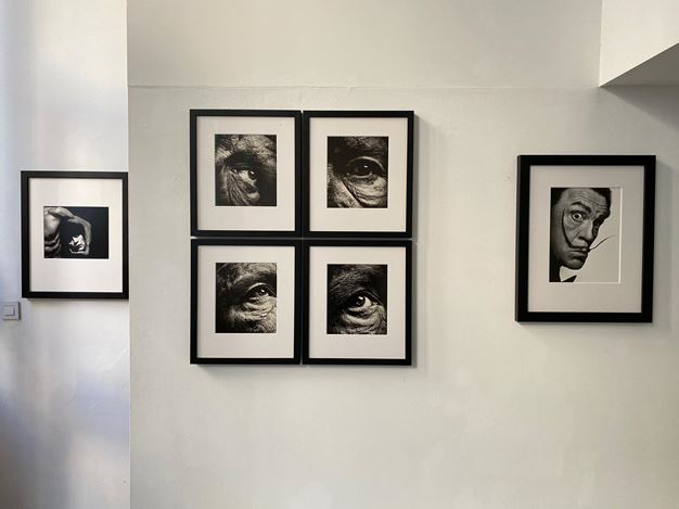 Exhibition view: Sandro Miller,Malkovich Malkovich Malkovich! Homage to photographic masters by Sandro Miller, Gallery FIFTY ONE TOO, Antwerp (17 November 2020–30 January 2021). Courtesy Gallery FIFTY ONE.
