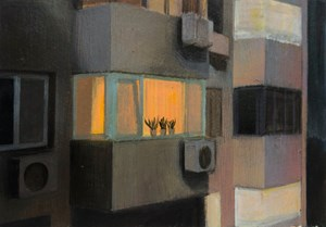 Scenery from the Window 2 窗的風景之二 by Zhang An contemporary artwork