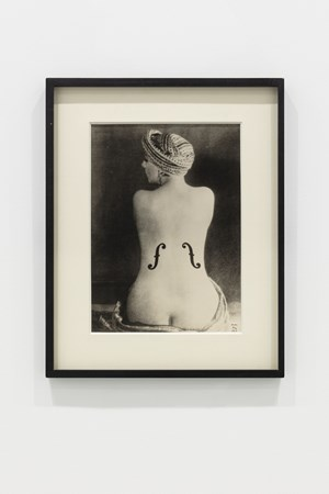 Ingres' Violin by Man Ray contemporary artwork