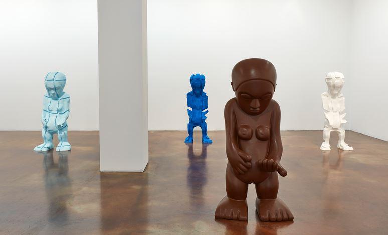 Exhibition view: Paul McCarthy, Cut Up and Silicone, Female Idol, WS, Kukje Gallery, Seoul. Courtesy Kukje Gallery, Seoul.