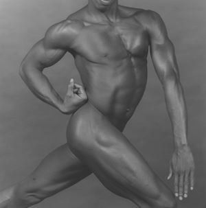 Derrick Cross by Robert Mapplethorpe contemporary artwork