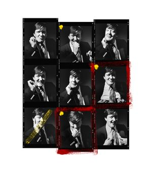 Stephen Fry Contact Sheet by Andy Gotts contemporary artwork photography, print