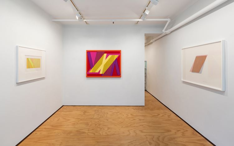 Exhibition view: Channa Horwitz, Lisson Gallery, East Hampton (22 October–1 November 2020).Courtesy Lisson Gallery.