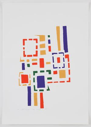 Untitled (No #I) by Mildred Thompson contemporary artwork