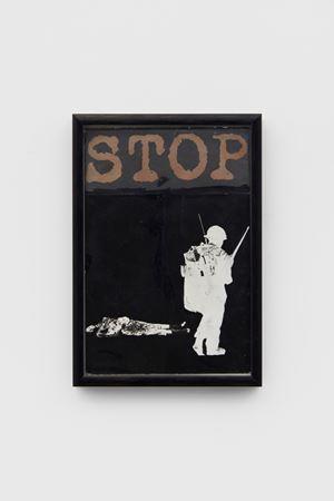 Stop by Peter Kennard contemporary artwork