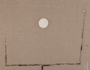 Moon and Plum Tree 《月梅》 by Yeh Shih-Chiang contemporary artwork