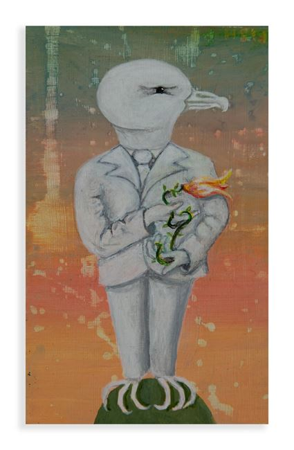 My Birds (B) by Harry Watson contemporary artwork