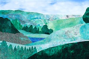 Landscape (Outlook) by Sally Ross contemporary artwork