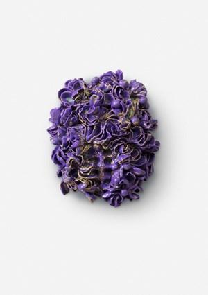 Vulva Small Purple Hart by Johan Creten contemporary artwork