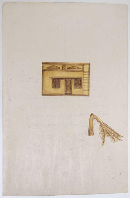 Golden Square House study II by Desmond Lazaro contemporary artwork