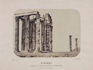 Athènes. Tempe de Jupiter ou de l'Olympeium by Gabriel de Rumine contemporary artwork