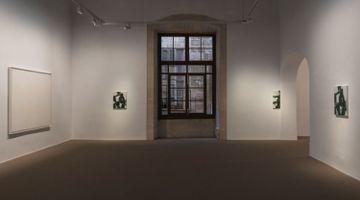 Contemporary art exhibition, Oliver Osborne, Portrait of a Fat Man at Galería Pelaires, Palma