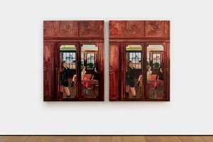Spot the Difference · Rear Windows (6 differences)' by Li Qing contemporary artwork