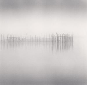 Morning Fishing Nets, Biwa Lake, Honshu, Japan by Michael Kenna contemporary artwork