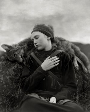 Whispers of the Coyote by Beth Moon contemporary artwork