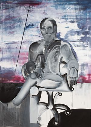 Spalt by Sebastian Gögel contemporary artwork