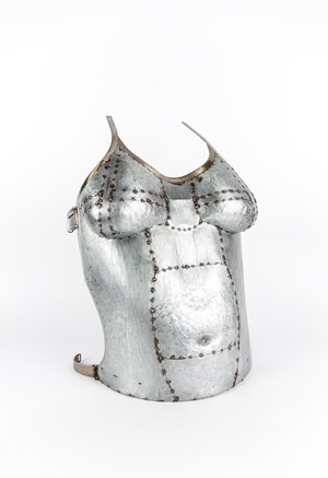 Bullet-proof Vest I by Naiza H. Khan contemporary artwork
