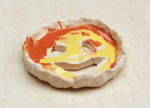 smiley by Jenny Brosinski contemporary artwork