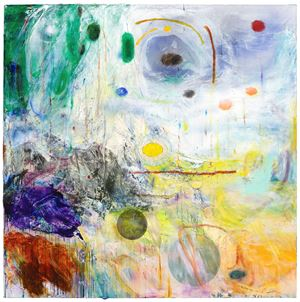 Spiraling Sky by Qiu Xiaofei contemporary artwork