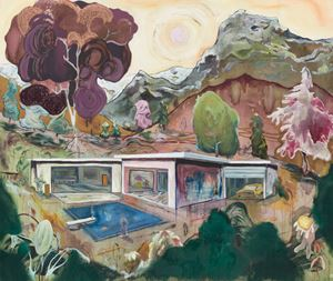 Summerhouse Memories by Pierre Knop contemporary artwork