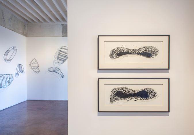 Exhibition view: Manisha Parekh, A River Inside,Jhaveri Contemporary, Mumbai (9 January–22 February 2020). Courtesy Jhaveri Contemporary.