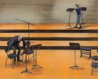 Stage arrangement 02 by Jina Park contemporary artwork painting