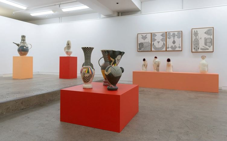 Exhibition view: Paul Maseyk, Out of this world, Page Galleries, Wellington (13 February–7 March 2020). Courtesy Page Galleries.