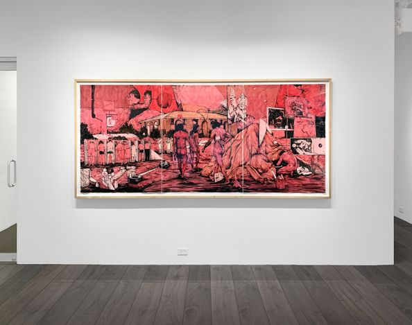 Exhibition view: William Buchina, Low Information Settings, Hollis Taggart, New York (4 March–28 April 2021). Courtesy Hollis Taggart.