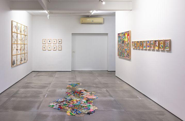 Exhibition view: Group Exhibition, Electric Dreams, Galeria Nara Roesler, Rio de Janeiro (29 May–14 August 2021). Courtesy Galeria Nara Roesler. Photo:©Pat Kilgore.