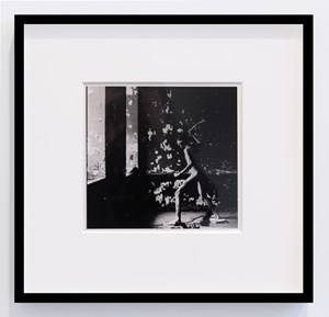Untitled (Blindfolded Nude) by David Wojnarowicz contemporary artwork