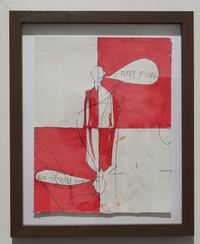 I am fine by Thomas Zipp contemporary artwork works on paper, drawing
