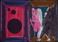 Paradise by Night by Chris Ofili contemporary artwork print