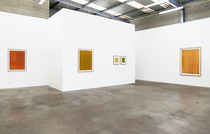Exhibition view: Leigh Martin, Prospecting, Jonathan Smart Gallery (7 August–1 September 2018). Courtesy Jonathan Smart Gallery.