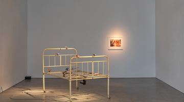 Contemporary art exhibition, Group Exhibition, Listen to a heart beat at Galerie Thomas Schulte, Berlin, Germany