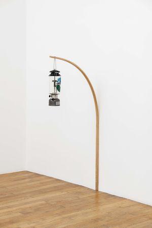 Gas Lamp by Oscar Tuazon contemporary artwork